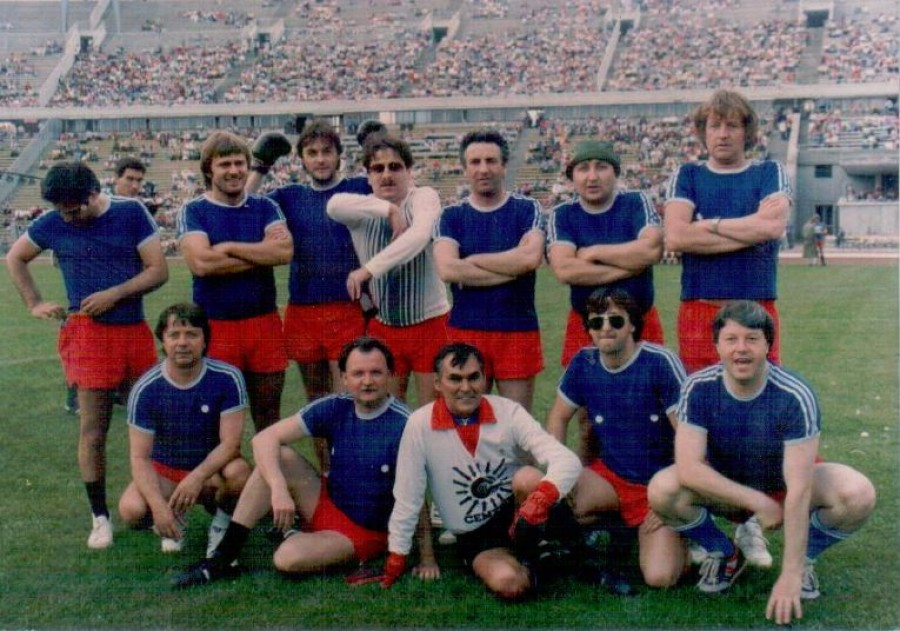 Egy fotó a 84-es SZÚR-ról. Hány játékost ismersz fel?