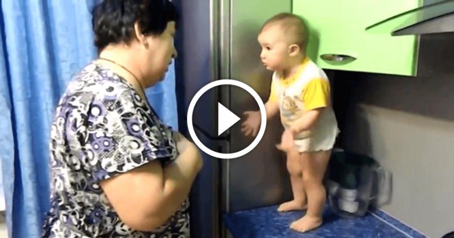 Bűbájos videó: Nagymama és unokája átbeszélik az élet nagy dolgait