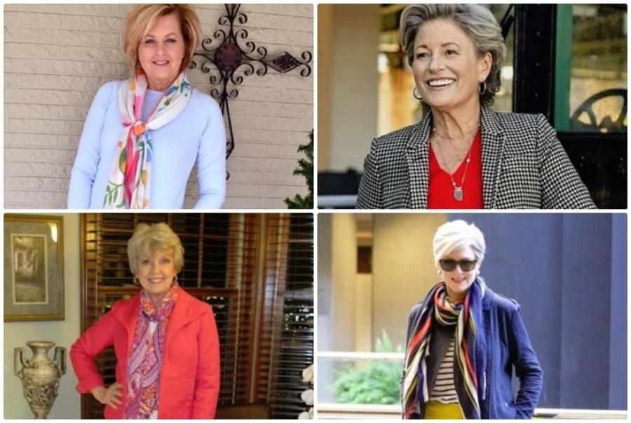 Évszakváltó színes öltözetek 50 felettieknek