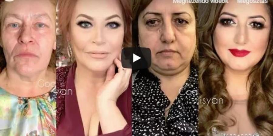 Hihetetlen átalakítások 50 feletti hölgyeken
