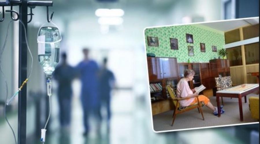 Retró szobát rendeztek be a kórházban: imádják az idős betegek