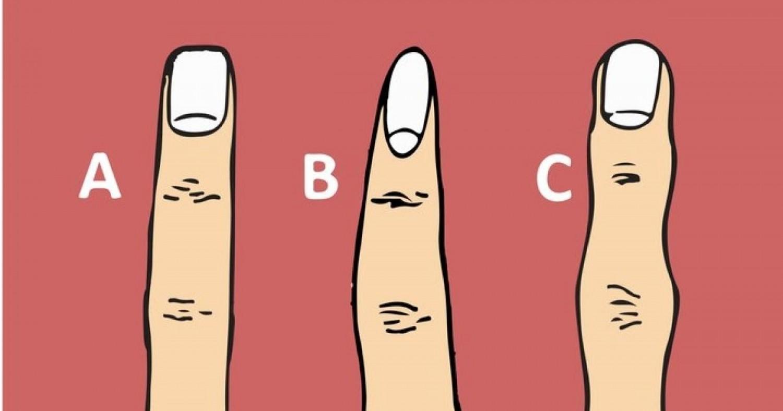 A középső ujjad formája sok mindent elárul a személyiségedről