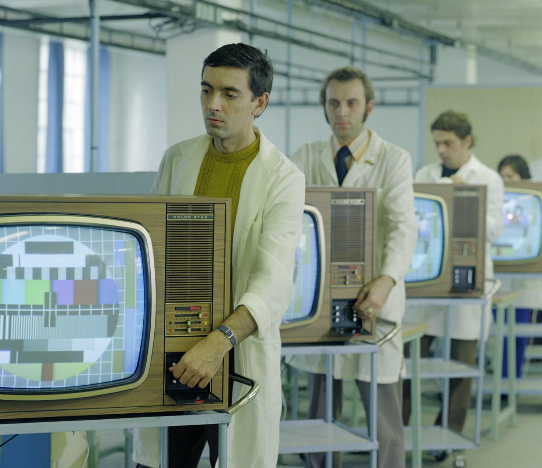 Emlékszel még az első színes tévékre?