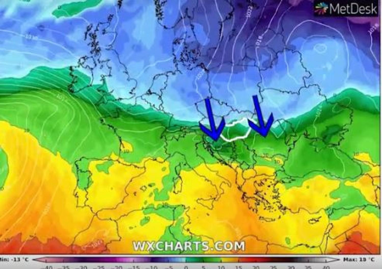 Így tör be a hideg az országba. Az év legnagyobb lehűlése érkezik!
