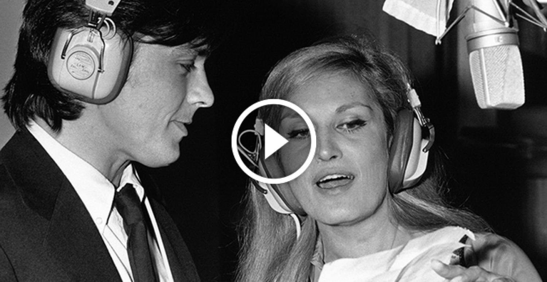 """Alain Delon és Dalida: """"Paroles, paroles"""" – egy csodálatos duett!"""