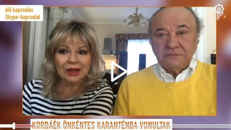 Korda György és Balázs Klári otthonából üzent: nagyon csalódottak