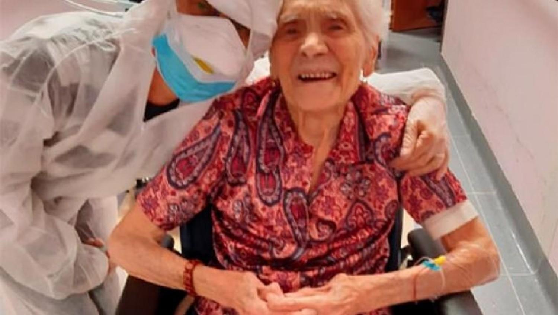 Kigyógyult a koronavírusból az a 103 éves olasz nő, aki a spanyolnáthát is túlélte