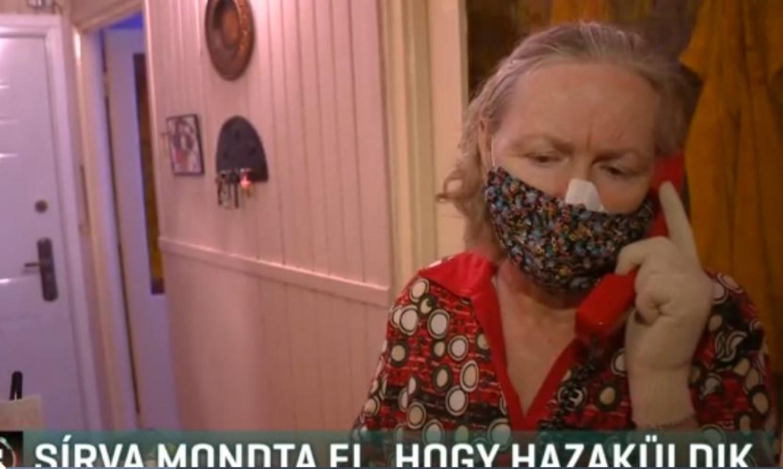 Sírva telefonált a 77 éves férfi, hogy hazaküldik a kórházból (videó)