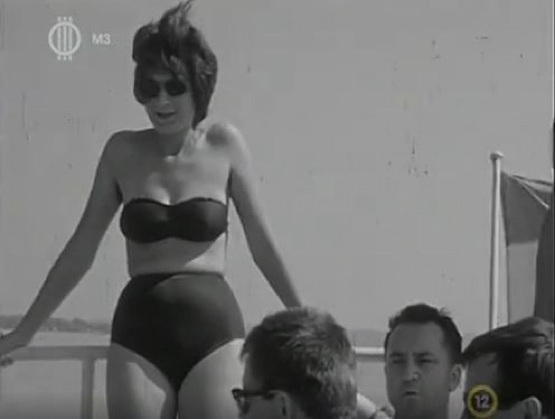 Így strandoltunk a Balatonnál a 60-as években