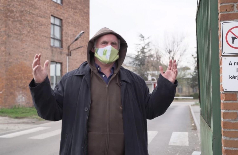 Ezt mondta Böjte Csaba, amikor kilépett a kórház területéről (videó)