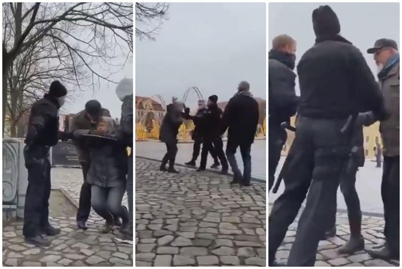 Hihetetlen: békésen sétáló nyugdíjas párra támadtak a rendőrök
