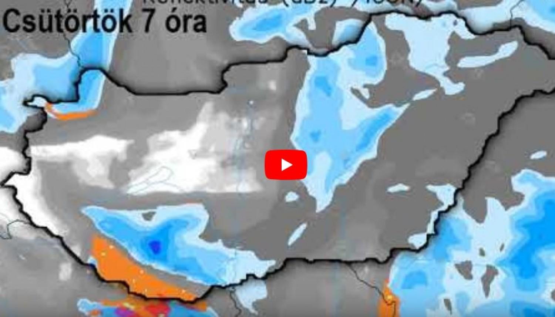 Mai időjárási kínálat: viharos szél, hófúvás, jégpáncél az utakon