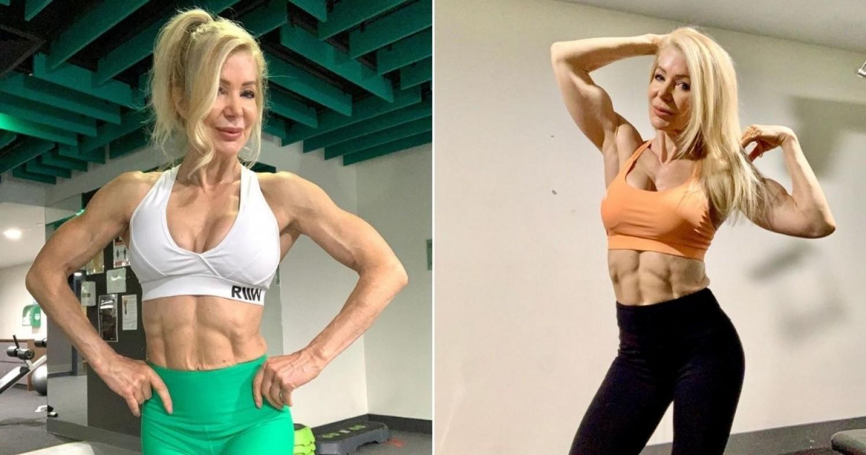 A 65 éves nagymama mindenkit lenyűgöz izmos testével: heti ötször edz, a férfiak körülrajongják