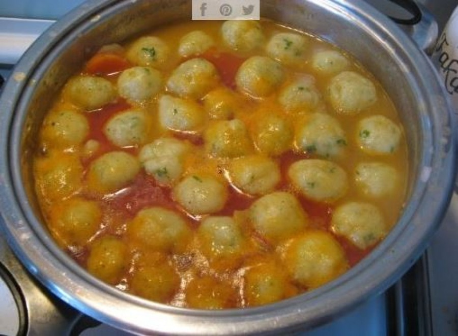 Krumpligombóc leves, ahogy még a nagymama készítette