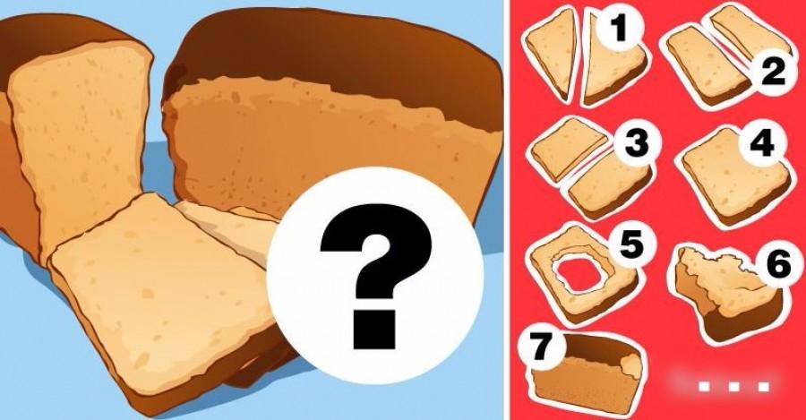 Sokat elárul a személyiségedről az, ahogy megeszel egy szelet kenyeret