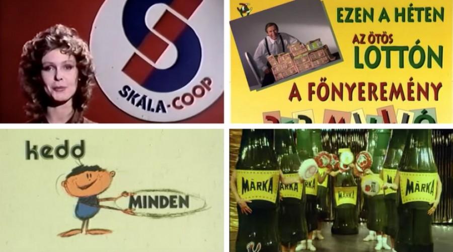 Régi magyar reklámok – én még a legrégebbiek közül is emlékszem párra!